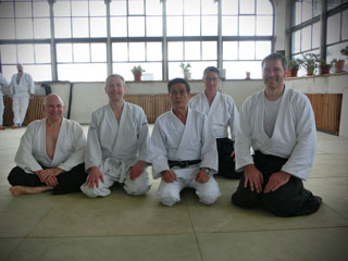 April 2016: Asai Sensei, 8. Dan, in Berlin